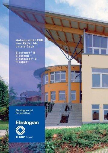 Wohnqualität PUR: vom Keller bis unters Dach ... - Energy Efficiency