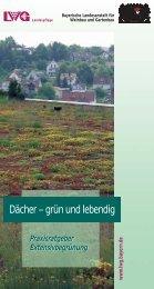 Dächer – grün und lebendig - Bayerische Landesanstalt für ...