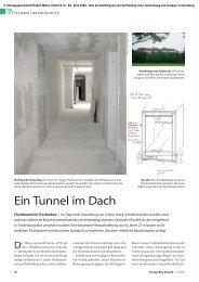 Ein Tunnel im Dach - TrockenBau Akustik