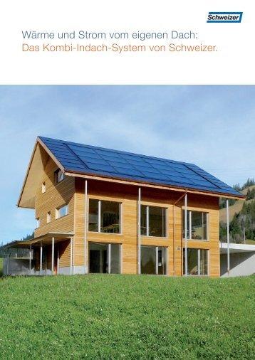 Wärme und Strom vom eigenen Dach: Das Kombi-Indach-System ...