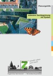ZINCO Extensive Dachbegruenung - Dach Kirsch