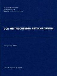 Jahresgutachten 1998/99 - Sachverständigenrat zur Begutachtung ...