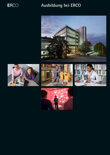 Ausbildung bei ERCO (.pdf)