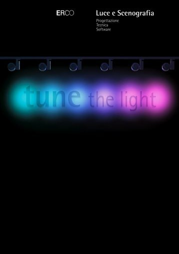 ERCO Tune the light