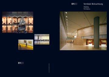 Vertikale Beleuchtung - Erco