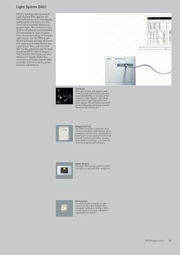 Light System DALI - Erco