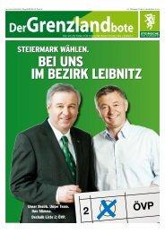 grenzlandbote September/10 - Steirische Volkspartei