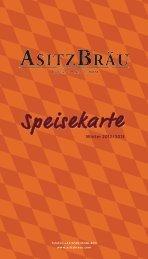 Speisekarte - Asitz Bräu