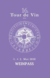 Tour de Vin - Groops.at