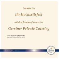 Gerstner Hochzeitsmappe digital