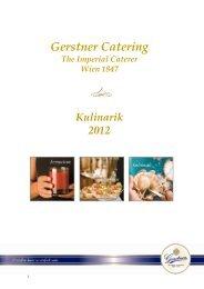 Angebot Catering als PDF downloaden - Gerstner