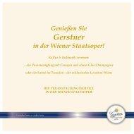 Cateringmappe Staatsoper als PDF downloaden - Gerstner