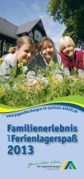 Familienerlebnis undFerienlagerspaß - DJH Service GmbH