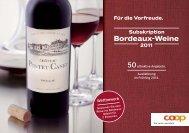 Bordeaux-Weine - Coop@home
