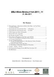 BBJ Wein-Newsletter 2011_11 11-05-31 - Active Communications