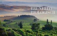 Der Brunello di Montalcino ist einer der bekanntesten Weine Italiens ...
