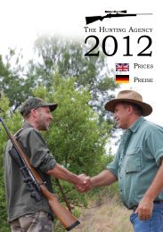 THE HUNTING AGENCY - Hunting & Shooting News