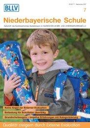 Niederbayerische Schule - BLLV