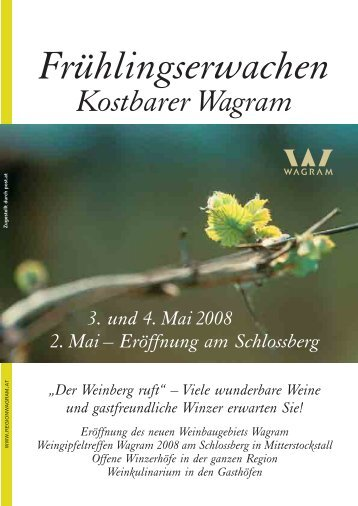 Kostbarer Wagram - Region Wagram