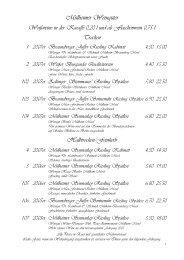 Weinkarte - Weinreisen