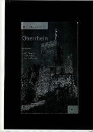 66 Burgen von Karlsruhe bis Basel (PDF) - wasserschlössle freiburg ...