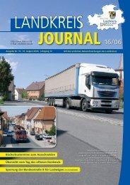 Ausgabe 16-2006.indd - Landkreis Neustadt an der Aisch - Bad ...