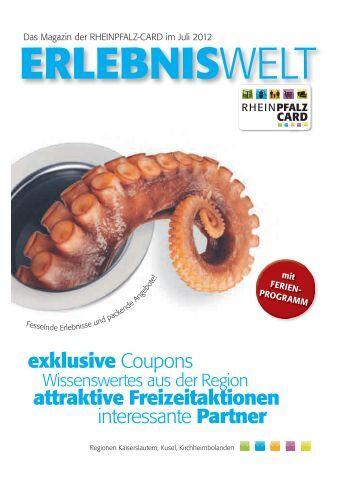 exklusive Coupons attraktive Freizeitaktionen ... - Die Rheinpfalz