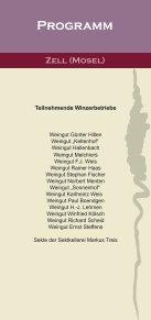 Flyer Zeller Nacht der Weinkultur - Zell Mosel - Seite 2