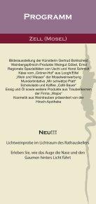Flyer Zeller Nacht der Weinkultur - Zell Mosel - Seite 3