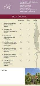 Flyer Zeller Nacht der Weinkultur - Zell Mosel - Seite 5