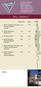 Flyer Zeller Nacht der Weinkultur - Zell Mosel - Seite 6