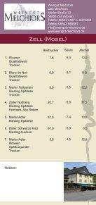 Flyer Zeller Nacht der Weinkultur - Zell Mosel - Seite 7
