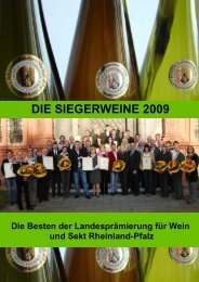 DIE SIEGERWEINE 2009 - Landwirtschaftskammer Rheinland Pfalz
