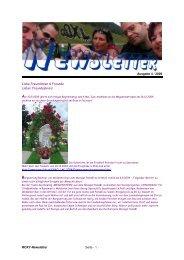 ROXY-Newsletter Seite - 1 - Ausgabe 4 / 2009 Liebe ... - Roxy Club