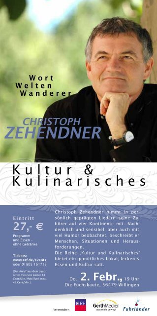 christoph zehendner - ERF