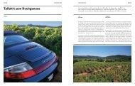 Talfahrt zum Hochgenuss - Porsche