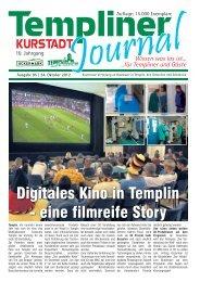Digitales Kino in Templin - Druck + Verlag Heggemann