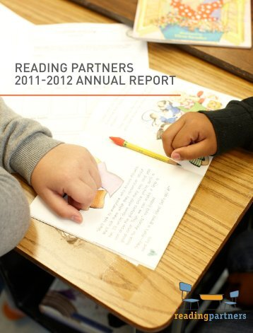 FY 2011-12 Annual Report - Reading Partners
