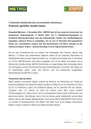 Pressemitteilung_METRO Cash & Carry_5. Brunnthaler ...
