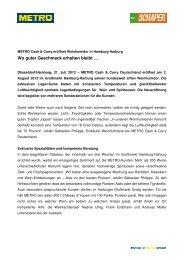Pressemitteilung METRO Cash & Carry eröffnet Weinhumidor in ...