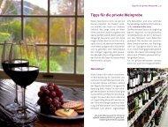 Tipps für die private Weinprobe - Land & Genuss