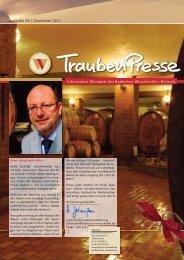 Traubenpresse Ausgabe 24 / Dezember 2011 - Badischer ...