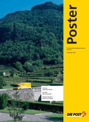 Oktober 2005 - Die Schweizerische Post