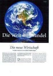 Die Welt im Wandeln- aus der Zeitung 150dpi
