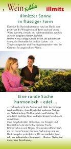 Illmitzer Weinerlebnis 2012-2013 - Page 2