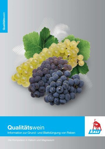 Wein deutsch - K+S KALI GmbH
