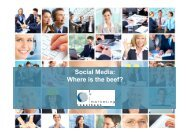 Social Media: Where is the beef? - Marketing Resultant GmbH