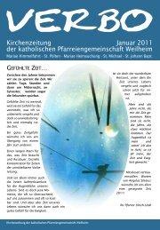 Kirchenzeitung Januar 2011 der katholischen ...