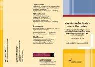 Flyer Kirchliche Gebäuden Stand 6.11.2012 - Evangelische ...