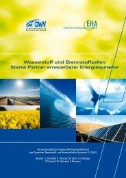 Wasserstoff und Brennstoffzellen Starke Partner erneuerbarer ...